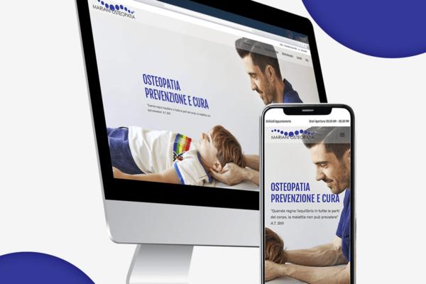 Mariani Osteopatia | Restyling Sito Web