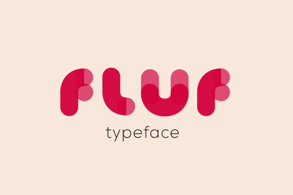 FLUF Font | Carattere Tipografico | Typography