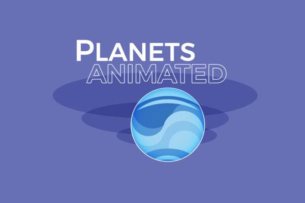 Pianeti Disegno | Flat Design | Animazione